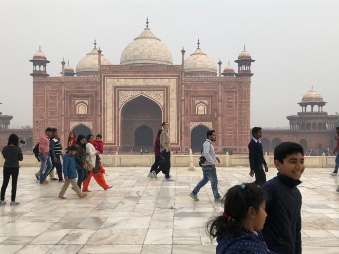 thetrraveller Taj mahal