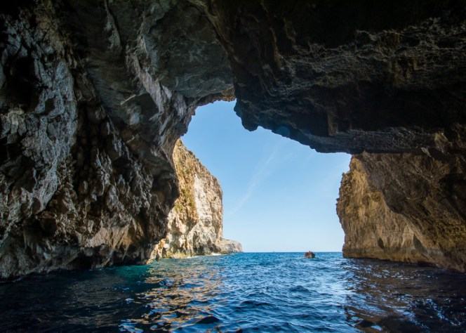 Blue Grotto - 3 DAYS IN MALTA : Itinerary and things to do.