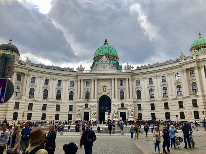 Hofburg Imperial Palace.