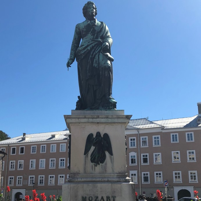 Mozart stature in Salzburg