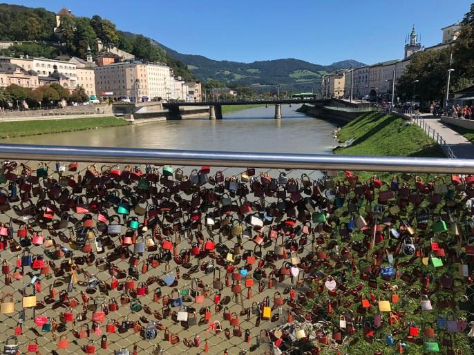 Love Lock Bridge Salzburg