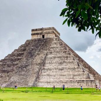 Pyramid- Chichen Itza.