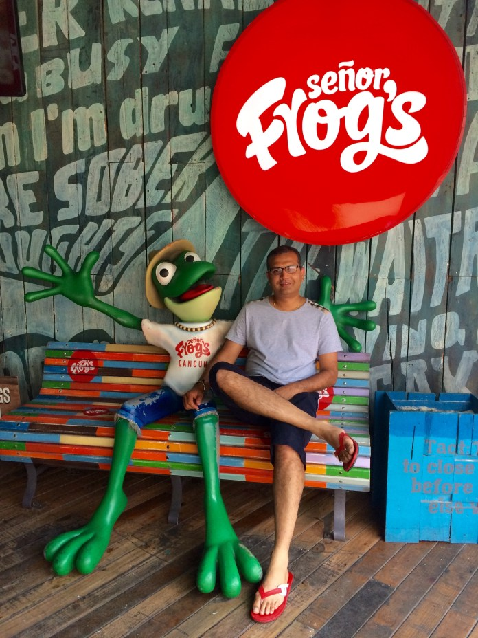 Senor Frog Cancun