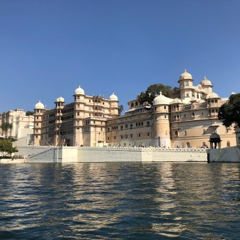 Boat ride on Lake Pichola - one of the things to do in Udaipur