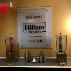 Hilton Orlando Honors floor