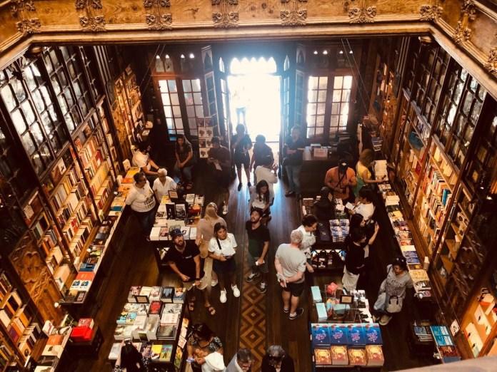 Inside Livraria Lello – Porto's famous bookstore
