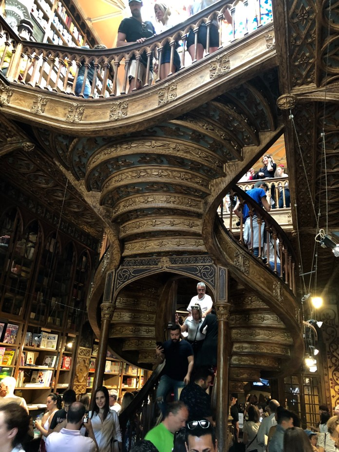 famous book shop in Porto