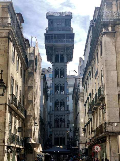 Santa Justa Elevator - 2 Days in Lisbon