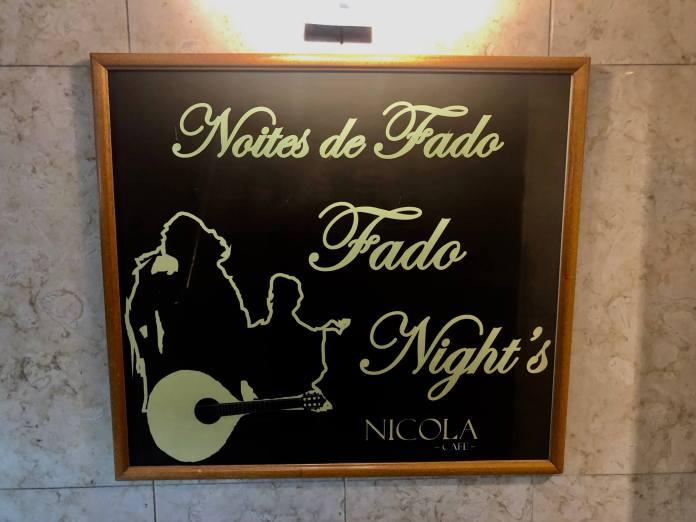 Fado show Lisbon