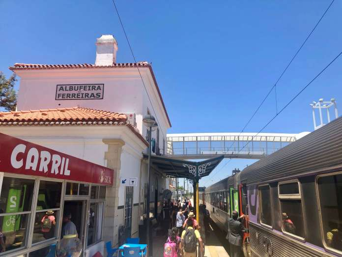 Albufeira Train Station - Algarve