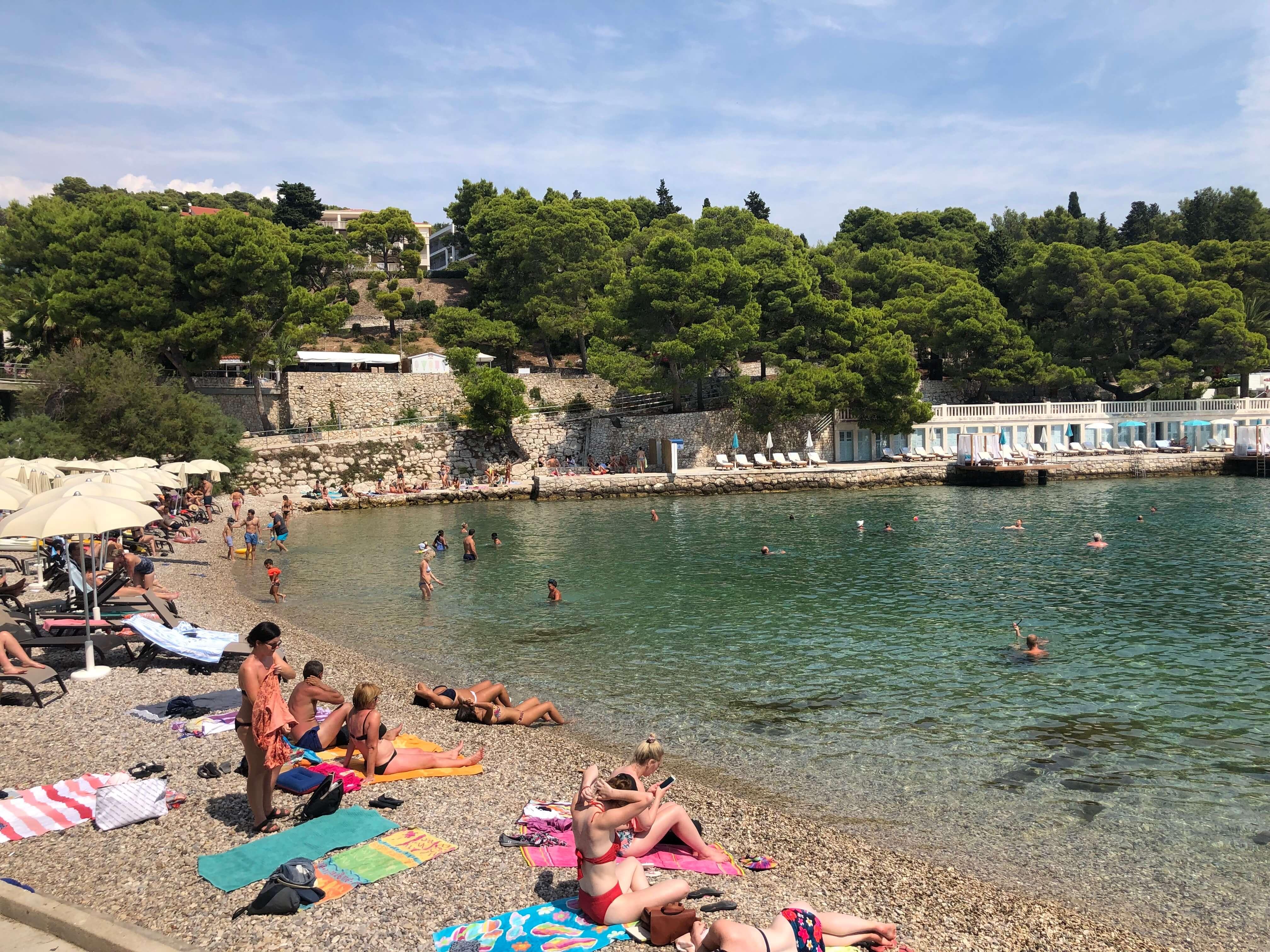 Hvar - beach
