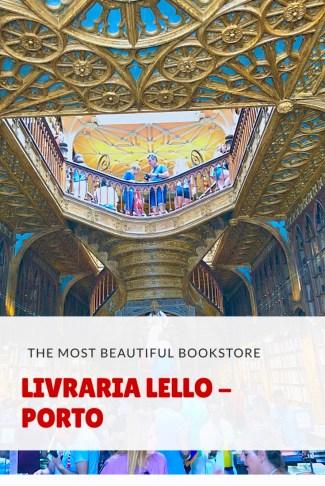 Livraria Lello - Porto bookstore
