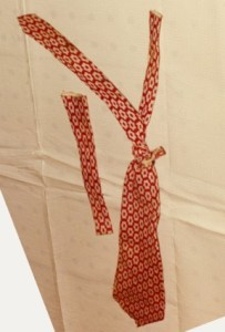 Image of tie used to bind Native River Lady's body