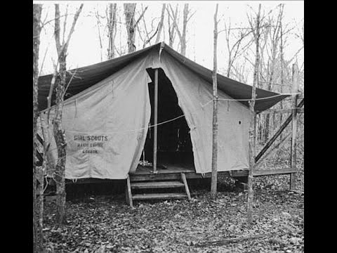 Image of tent 8, the Oklahoma Girl Scout murder