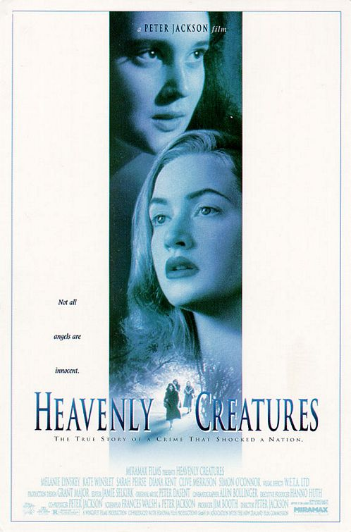 Advertising for film Heavenly Creatures