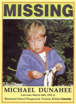 Photo of missing person Michael Dunahee