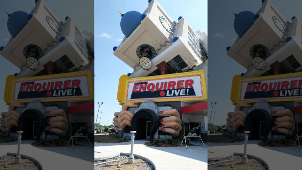 National Enquirer Goes Live With Interactive Attraction