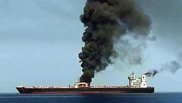 Tankers Attacked Near Iran: 75,000 Tons Of Naphtha On Fire [Breaking]