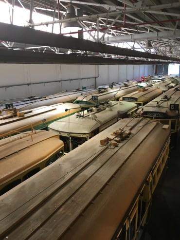 tram roof