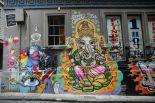 Ganesha street art - Hosier Lane by Alpha on Flickr