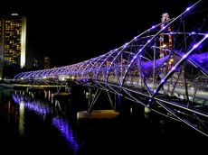 Helix Bridge - Things to Do in Singapore - The Trusted Traveller