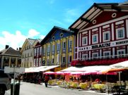 The pretty town of Mondsee