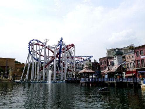 Thrill Rides at Universal Studios Singapore, Sentosa Island