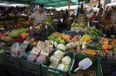 Campo di Fiori fresh produce (photo by wikipedia commons)