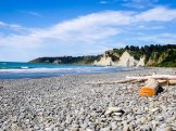 The beach at Gore Bay - Driving from Christchurch to Marlborough - The Trusted Traveller