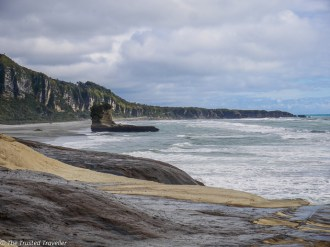 The coast at the end of the Truman Tracki - Driving New Zealand's Wild West Coast - Things to See & Do - The Trusted Traveller