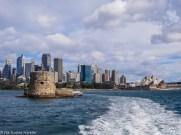 Fort Denison in Sydney Harbour