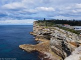 View from The Gap at Watsons Bay