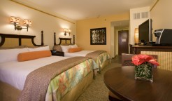 A guest room at the Loews Royal Pacific Resort at Universal Orlando - Where to Stay Near the Orlando Theme Parks - The Trusted Traveller