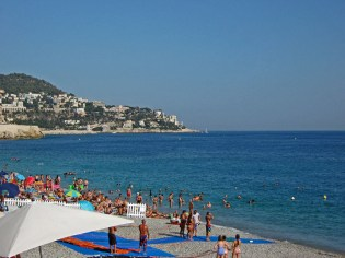 Pebble beach in Nice - The Best of France: A Two Week Itinerary - The Trusted Traveller