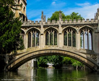 A covered bridge over the River Cam, Cambridge - See the Best of England: A Three Week Itinerary - The Trusted Traveller