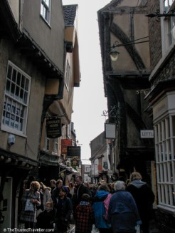 The Shambles - See the Best of England: A Three Week Itinerary - The Trusted Traveller