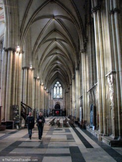 Inside York Minster - See the Best of England: A Three Week Itinerary - The Trusted Traveller