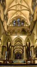 Inside Salisbury Cathedral - See the Best of England: A Three Week Itinerary - The Trusted Traveller