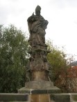 One of the 30 statues on Charles Bridge