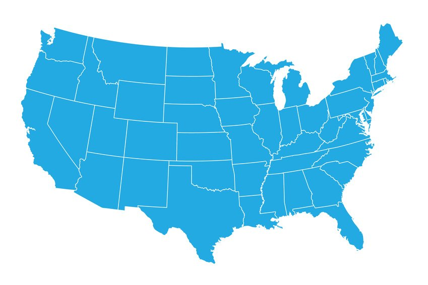 where CBD is legal in the United States