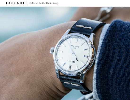 Hodinkee reviews - and sells - Grand Seiko