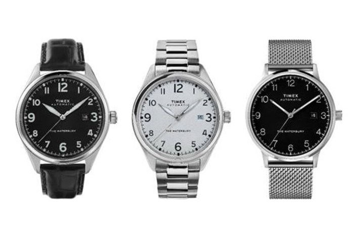 Timex Waterbury model range