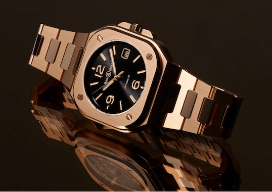 The BR05 in gold look like someone took a hammer to a Panerai
