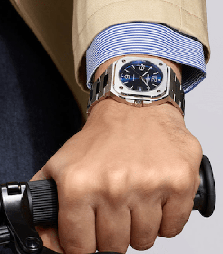 Is a Bell & Ross necessary riding on a bicycle?