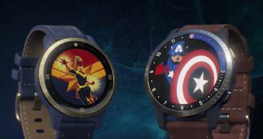 Garmin Captain Marvel and First Avenger Legacy Hero Series Smart Watches Don't Suck