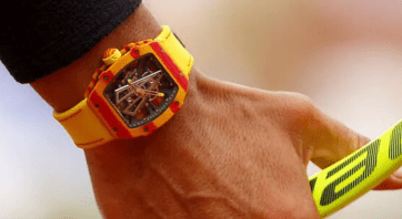 Rafael Nadal's $725k Richard Mille Watch