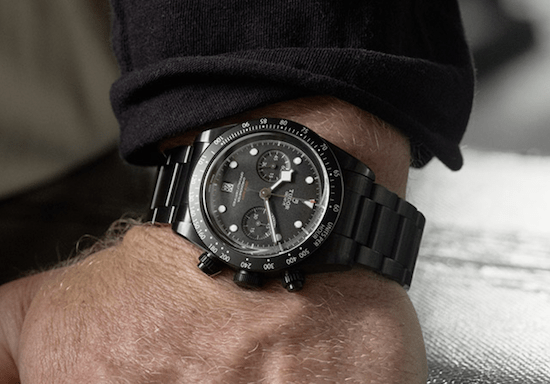 Tudor Black Bay Chrono Dark on wrirst