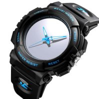 How to Kill an $18 Skmei Creative Large Face LED Backlight Analog Quartz Simple Sport Wrist Watch for Men