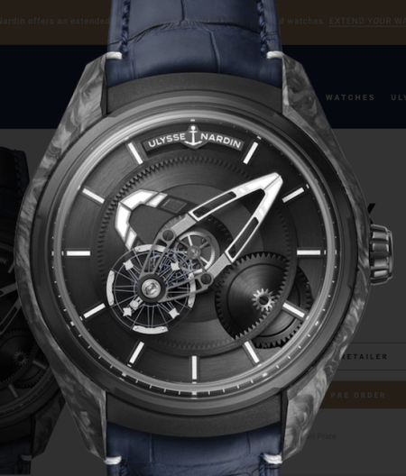 Ulysse Nardin Freak X fights the smartwatch vs. Traditional Watch
