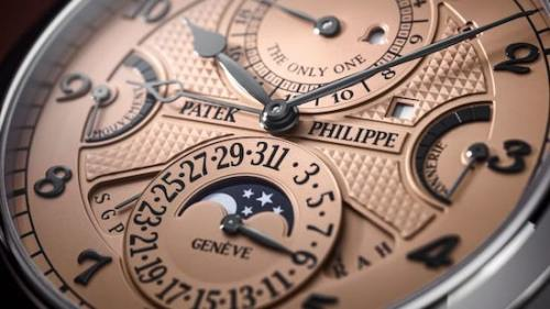 $31m Patek Philippe - the quintessential Swiss watch? (courtesy Christie's)